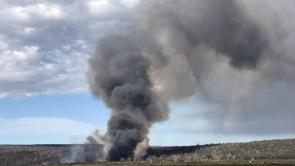 Tasmania Bushfire Alert Fire Alert For Poatina Rd Flintsone Barren Tier And Miena The Mercury