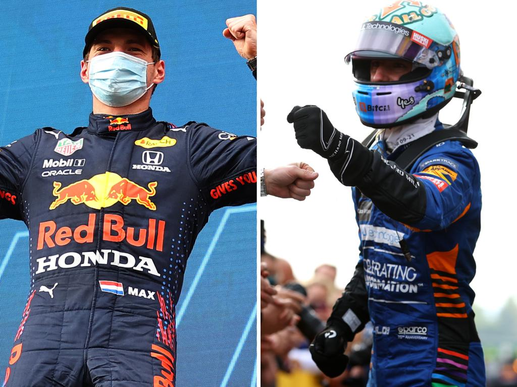 Max Verstappen and Daniel Ricciardo five things