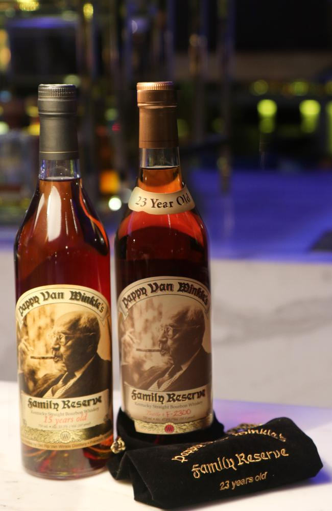Pappy Van Winkle Family Reserve 23YO, $280 per 30ml. Picture: Supplied.