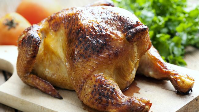 This delicious chicken hit the floor for six seconds, you say? BIN IT.