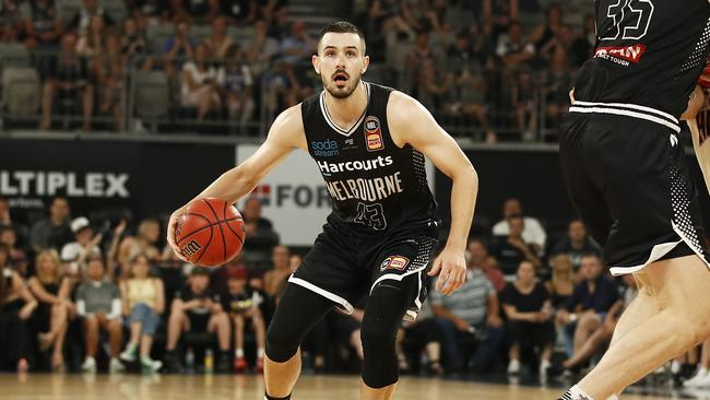 Chris Goulding is confident Melbourne United can handle the pressure of the run home.