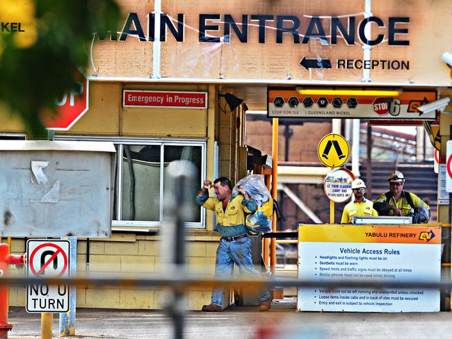 About 550 Queensland Nickel workers have been out of the job since in limbo since last month. Picture: Zak Simmonds