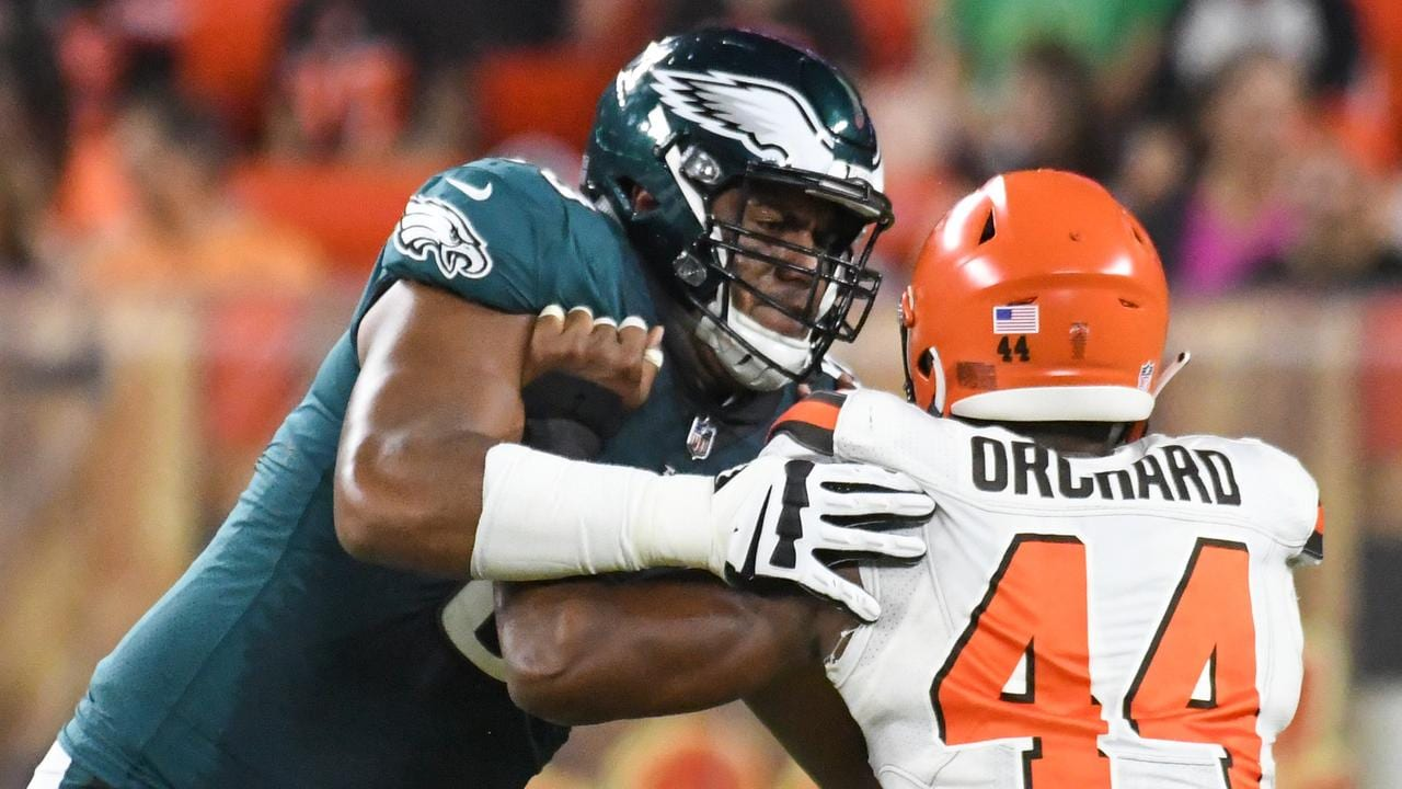 Jordan Mailata has made the 53-man roster for the Eagles and has a realistic shot at an NFL future.