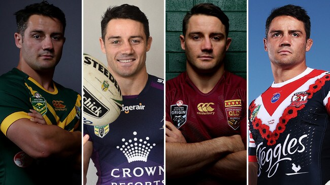 9cee5391bc9 Cooper Cronk has enjoyed a glittering NRL career with the Kangaroos, Storm,  Maroons and
