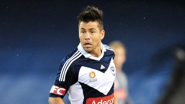Rodrigo Vargas in action for Melbourne Victory.