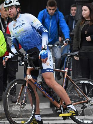 Mark Beaumont doesn't think his riding record will last forever. Picture: AFP/Christophe Archambault