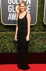Actor Samara Weaving attends The 75th Annual Golden Globe Awards at The Beverly Hilton Hotel on January 7, 2018 in Beverly Hills, California. Picture: Frazer Harrison/Getty Images