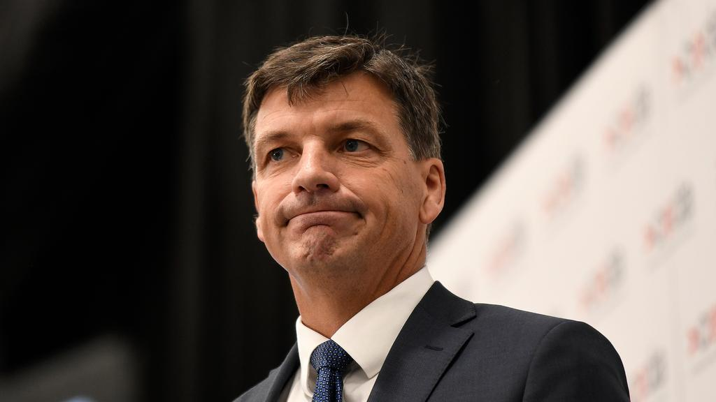 Energy Minister Angus Taylor said the measures were designed to ensure the long-term viability of local refineries. Picture: AAP