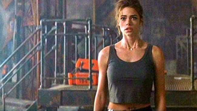 Denise Richards as Christmas Jones. Every nuclear scientist has to have a skimpy midriff top.