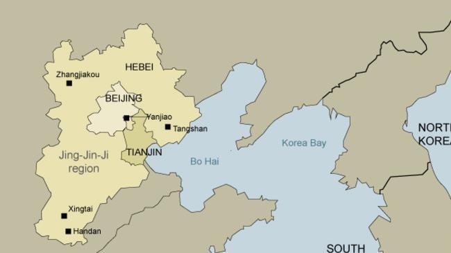 Jing-Jin-Ji, China's new megalopolis.