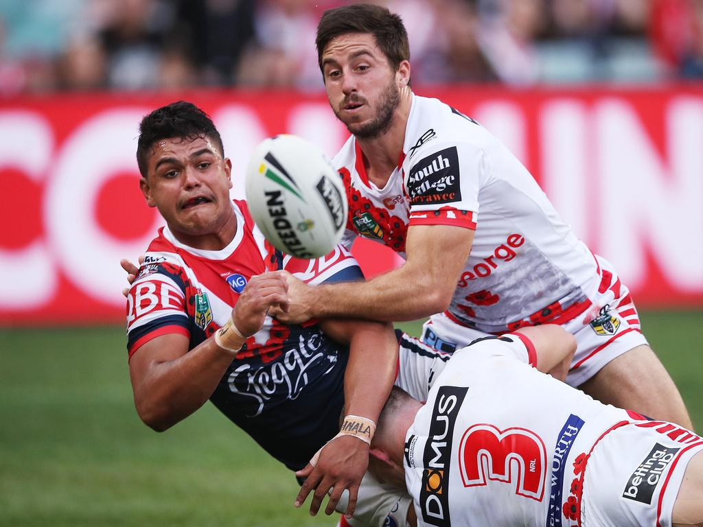 Roosters v Dragons