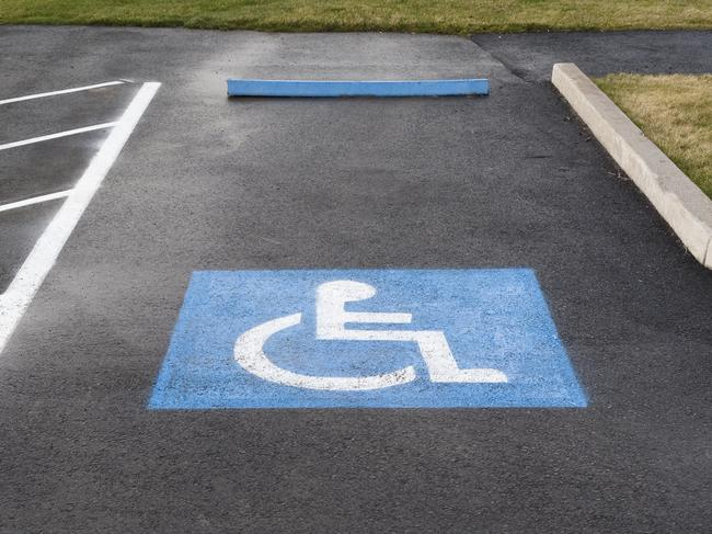 Parking in a disabled spot without a permit could cost you over $500 and one demerit point. Picture: iStock