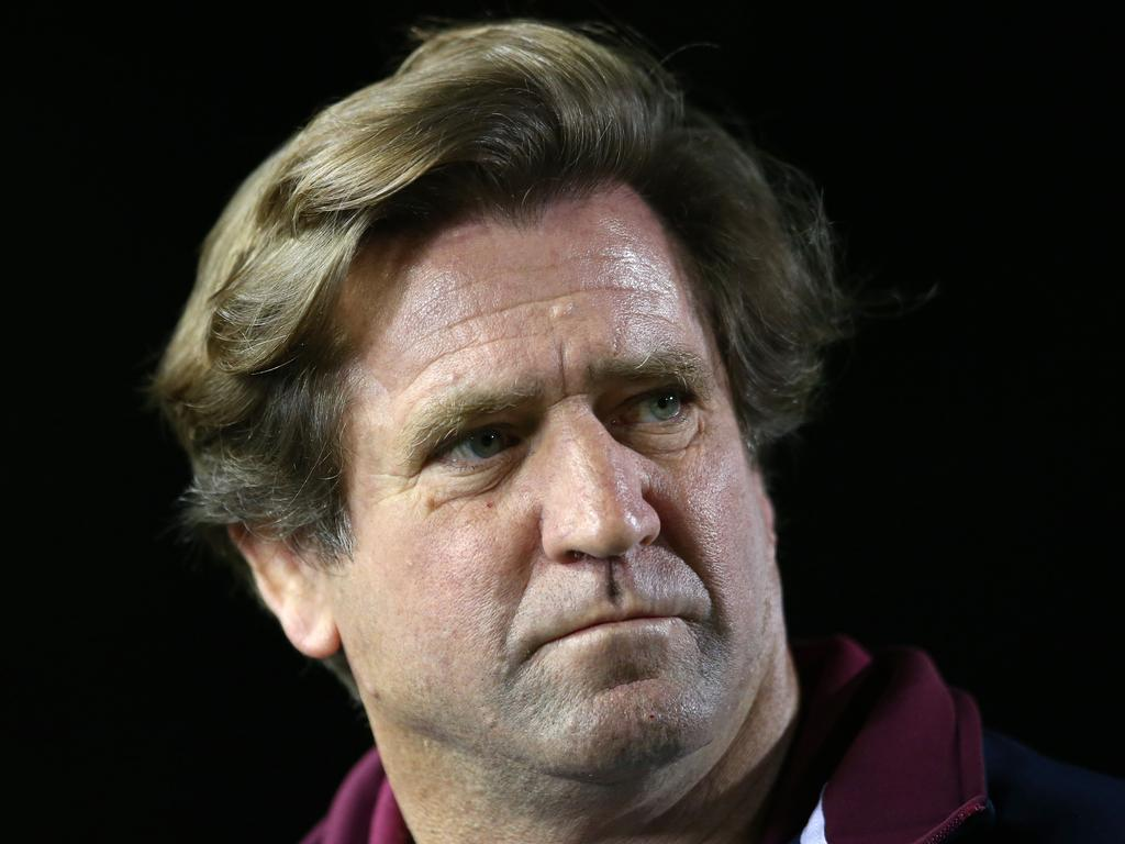 How long Des Hasler is with Manly depends on how they go this season.