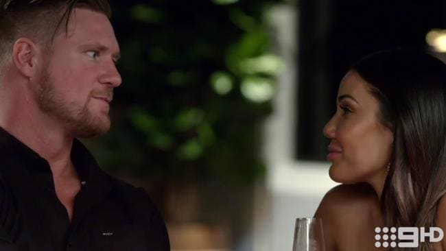 Dean and Davina's affair during the current season has been widely criticised. (Picture: Nine)
