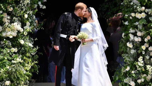 The world swooned over Harry and Meghan's wedding. Picture: Ben Stansall/Pool/AFP