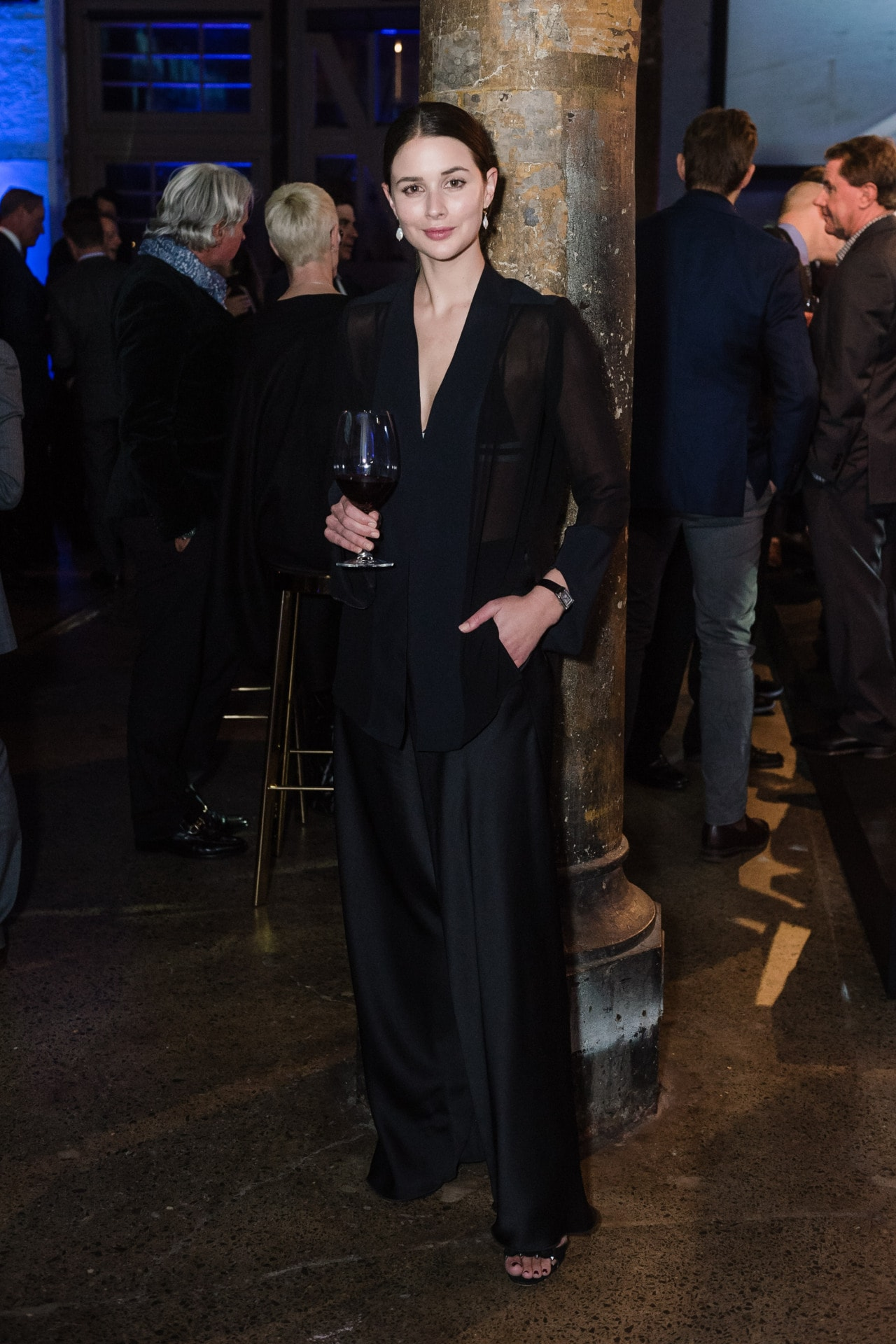 Sarah Crompton at the Jaeger-LeCoultre launch of the Polaris collection. Image credit: Supplied