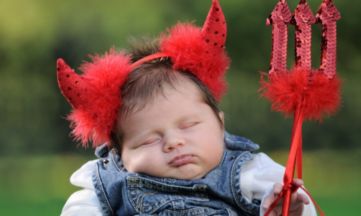 Newborn baby given hell of a start in life with name inspired by the devil