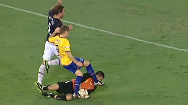 Smeltz's challenge on Neil Young in 2010.