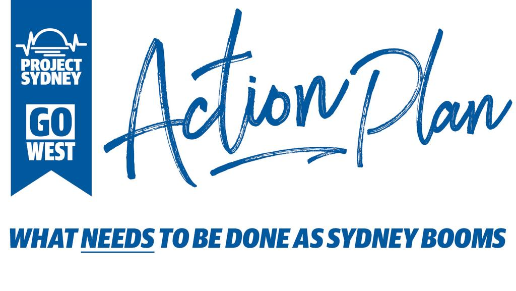 Project Sydney Action Plan  Daily Telegraph