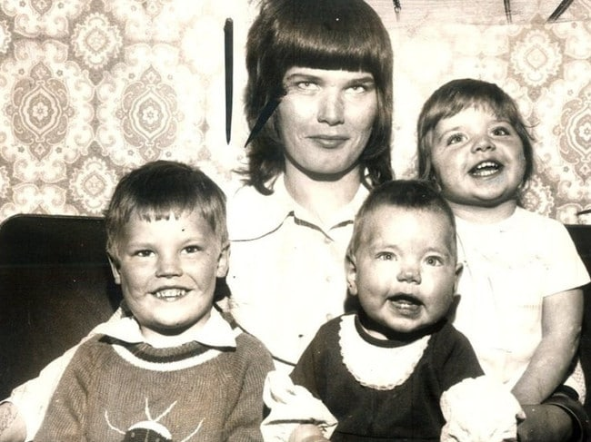 McGreavy slaughtered three children, Paul, Samantha and Dawn, left in his care in a drunken rage in 1973.