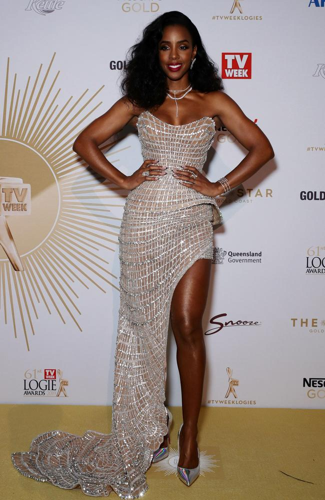 Kelly Rowland is not afraid to show some skin! Picture: Matrix