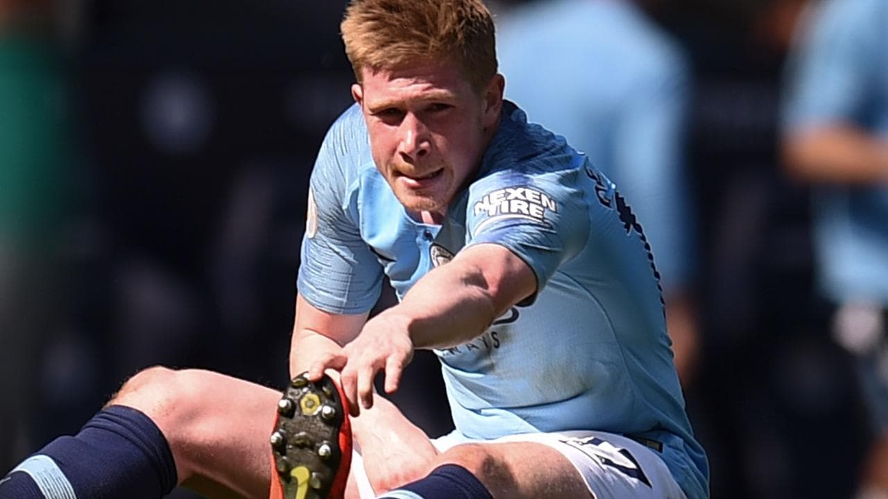 Kevin De Bruyne has picked up another knee injury.
