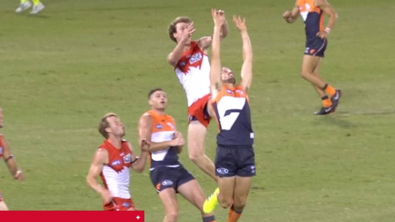 Nick Blakey was penalised for this action in the JLT Community Series.