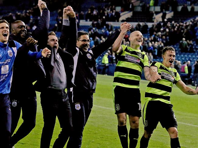 Aaron Mooy will play with Huddersfield Town in the play-off final.