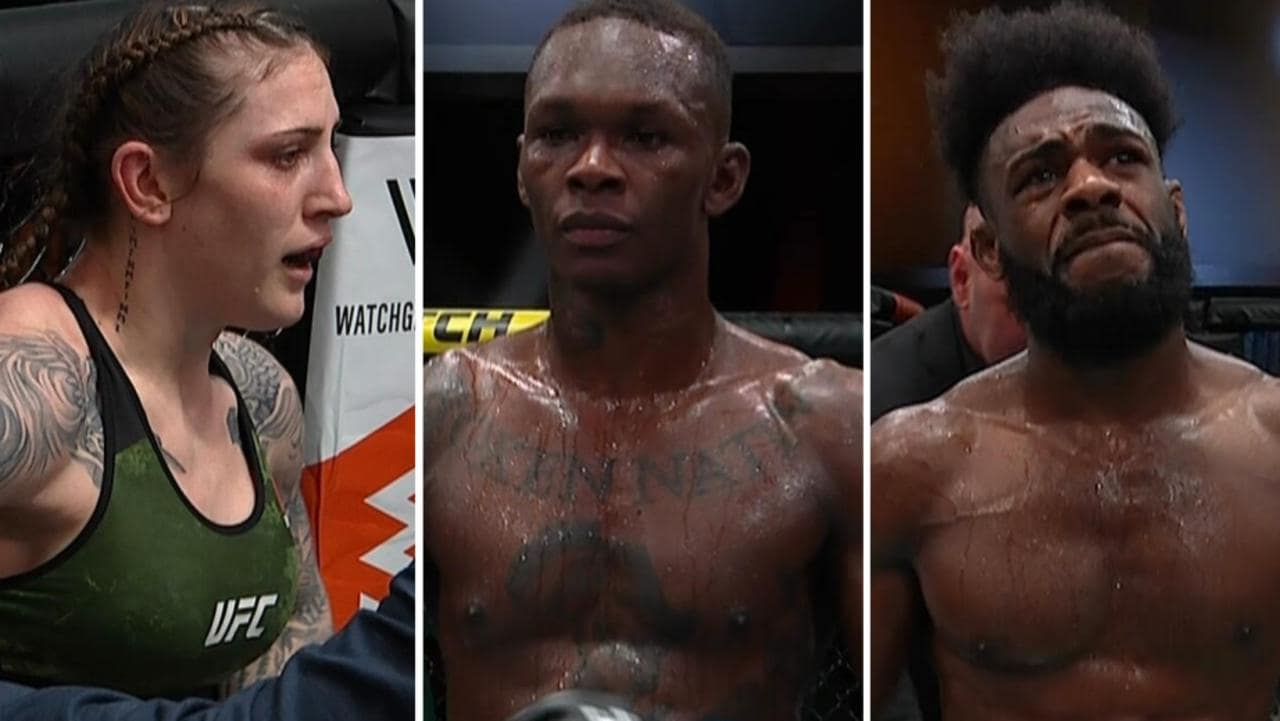 UFC 259 offered up non-stop chaos.