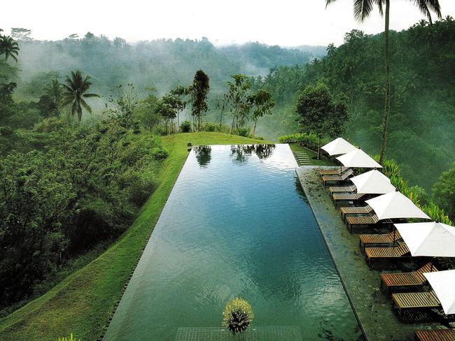 World S Best Hotel Pools Hanging Gardens Ubud Four