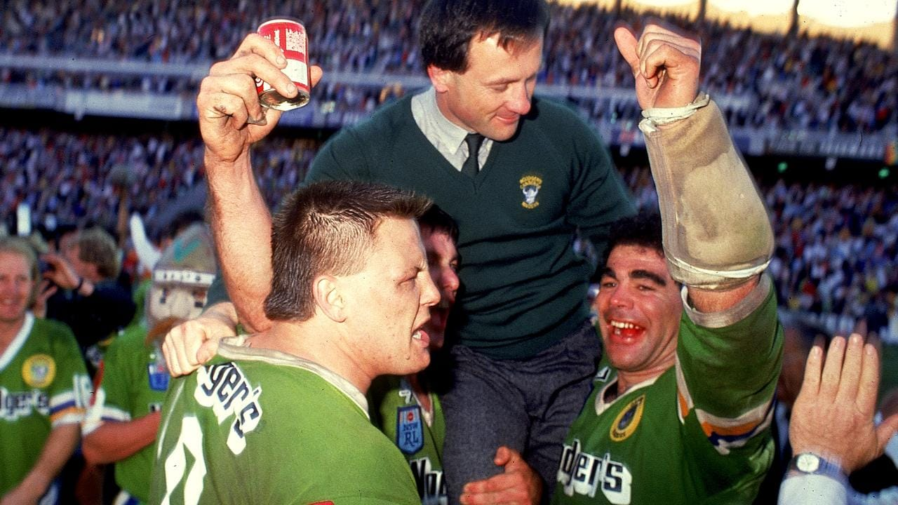 The Raiders beat the Tigers in one of the best rugby league matches of all time.