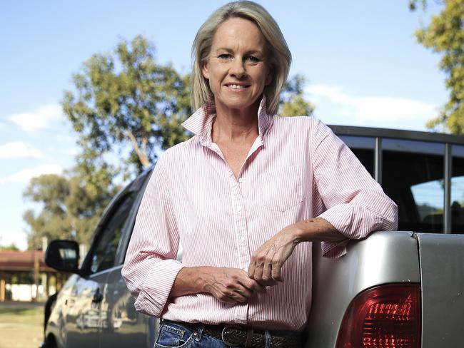 Former senator Fiona Nash, who was disqualified by the High Court because of British citizenship, pictured in Tamworth. Picture: Dylan Robinson