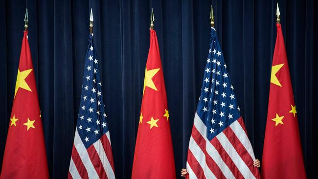 "China is waging a ""cold war"" on the US, a top CIA official has warned."