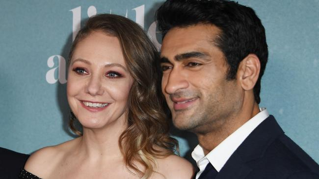 Emily V. Gordon and Kumail Nanjiani co-created the series with Lee Eisenberg. Picture: Mark Ralston/AFP