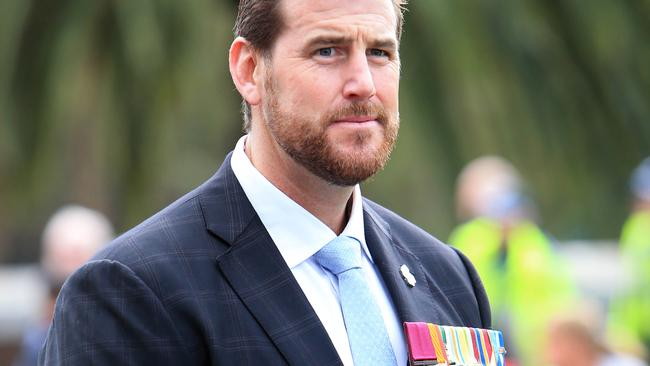 Ben Roberts-Smith is a decorated soldier. Picture: Aaron Francis/The Australian