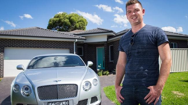 Binvested co-founder Nathan Birch, 30, says negative gearing is a very sensitive area to mess with. Picture: Jonathan Ng