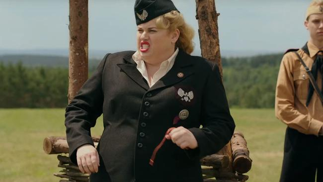 Rebel Wilson plays a character named Fraulein Rahm