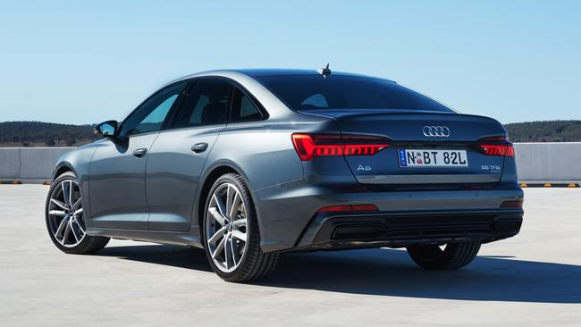Options can quickly accelerate the A6's price.