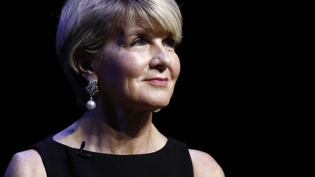 Julie Bishop at one of those events in Sydney. Picture: Getty