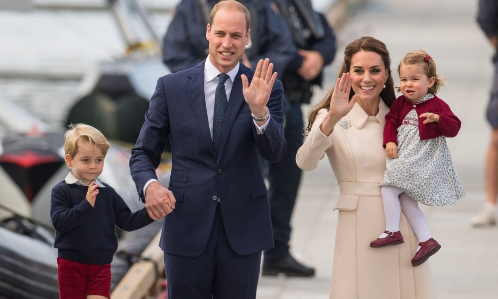 File photo dated 01/10/16 of the Duke and Duchess of Cambridge, Prince George and Princess Charlotte. The Duke and Duchess of Cambridge will celebrate their daughter Princess Charlotte's second birthday on Tuesday.. Issue date: Sunday April 30, 2017.