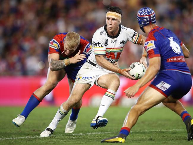 James Maloney's defence isn't usually the match winner for Penrith.
