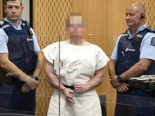 The man charged in relation to the Christchurch massacre smirked at the media during his appearance in court.