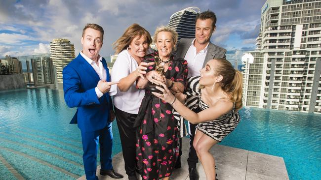 Jessica Marais had been nominated for a Gold Logie alongside Grant Denyer. Picture: Nigel Hallett