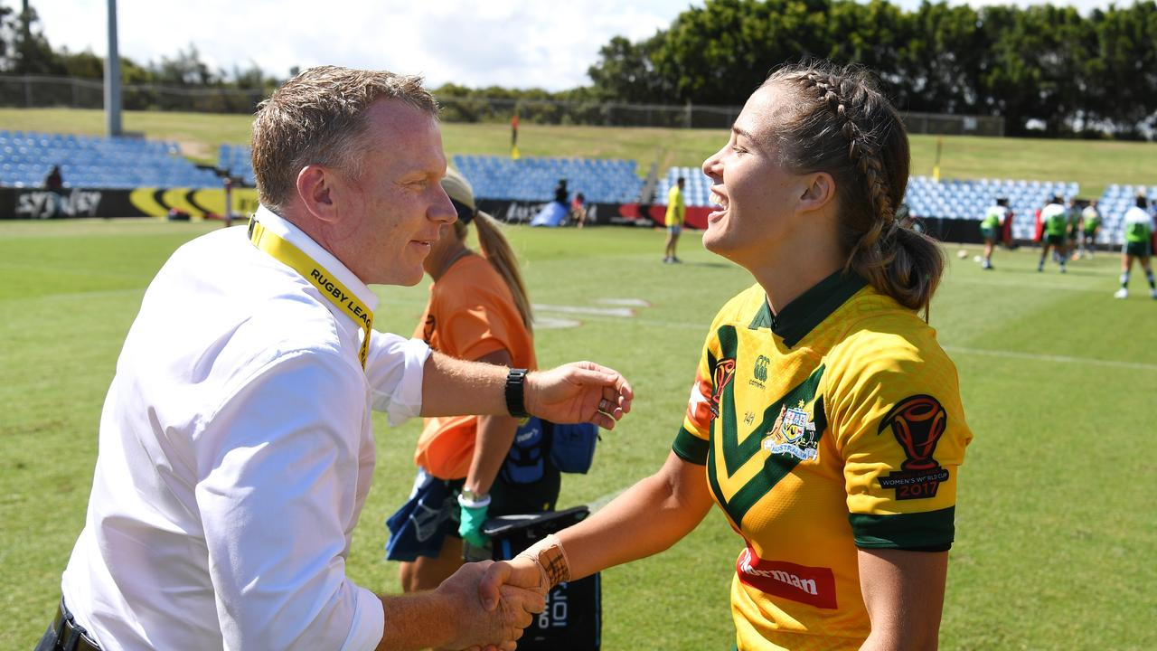 "Brad Donald is ""humbled"" to be given the opportunity to continue coaching the Jillaroos side."