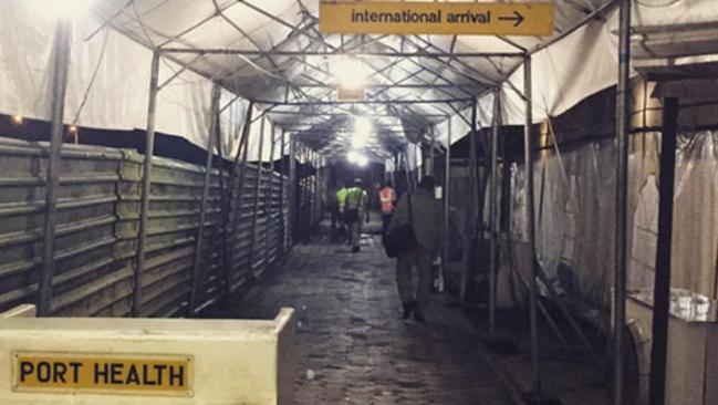 Port Harcourt Airport is not the nicest place to experience a delay. (Photo: Instagram ur4ela)