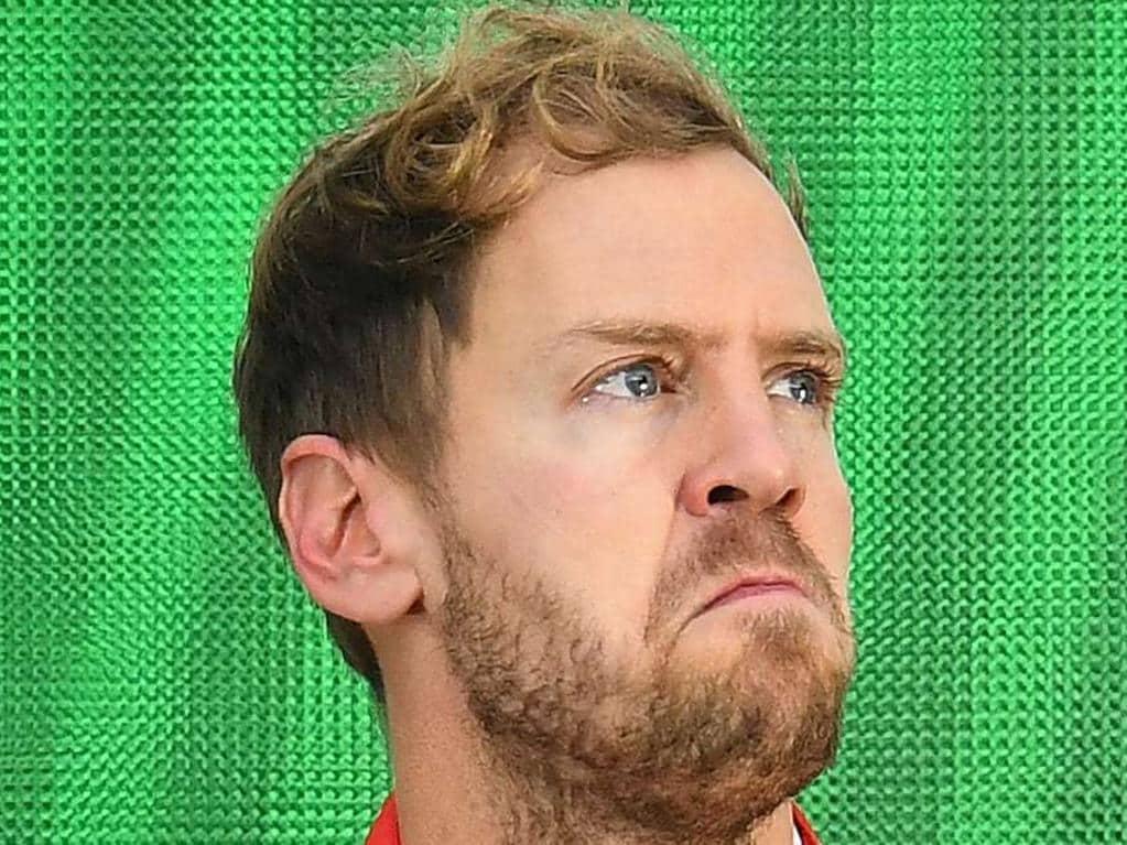 Embarrassing blooper reel exposes Vettel truth
