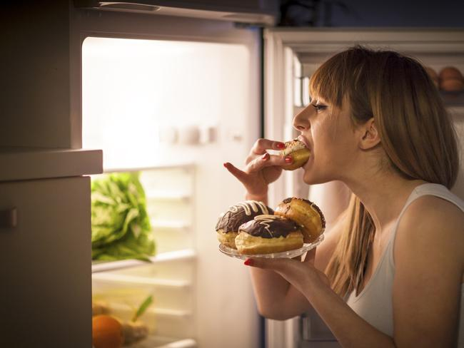 Binge eating could become a problem.