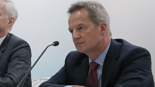Cathay Pacific CEO Rupert Hogg has resigned following pressure by Beijing on the Hong Kong carrier over participation by some of its employees in anti-government protests. Picture: AP/Kin Cheung