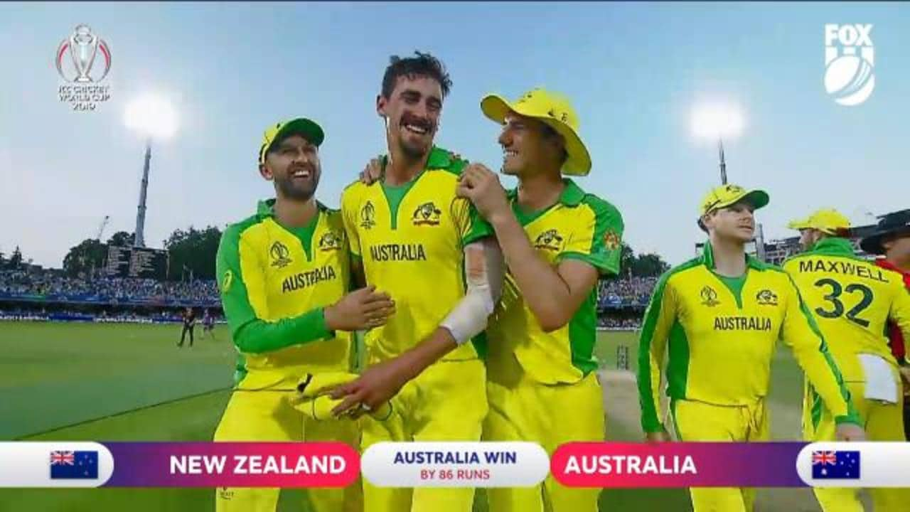 Mitchell Starc tears New Zealand apart