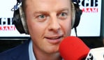 10/4/19: 2GB radio drive presenter, Ben Fordham in the Macquarie Media radio studios in Sydney. John Feder/The Australian.
